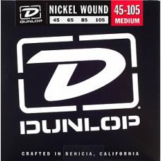 Струны Dunlop Nickel-Plated Steel Medium Light Bass 45-105 (DBN45105)