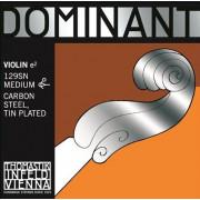 129SN Dominant Отдельная струна Е/Ми для скрипки размером 4/4, сред. натяж, съемный шарик, Thomastik