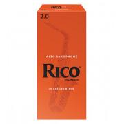 RIA2520 Rico Трости для саксофона сопрано, размер 2.0, 25шт, Rico