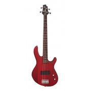 Action-Junior-OPBC Action Series Бас-гитара, уменьшенная, красная, Cort