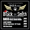 Струны BlackSmith Bass 40-100 (NW-40100-4)