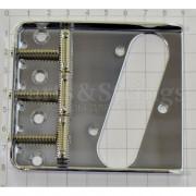 Бридж для телекастера Hosco T-21C, 3 седла (бочонки)