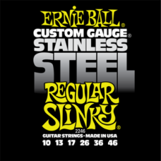 Струны Ernie Ball Stainless Steel Regular Slinky 10-46 (2246)