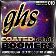 Струны GHS Coated Boomers 10-52 (CB-GBTNT)