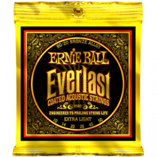 Струны Ernie Ball Everlast Coated 80/20 Bronze Acoustic 10-50 (2560)