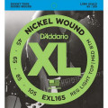 Струны D'Addario Nickel Wound Bass 45-105 (EXL165 XL)