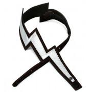 25LNBT00 Lightning Bolt Ремень для гитары, замша, Planet Waves