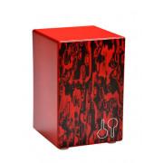 20801706 Orff CAJ BA Red Baterita Кахон, красный, Sonor