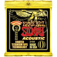 Струны Ernie Ball Acoustic Slinky Titanium Coated 12-54 (2156)
