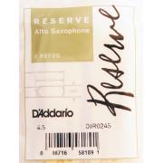 DJR0245 Reserve Трости для саксофона альт, размер 4.5, 2шт., Rico