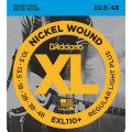 Струны D'Addario Nickel Wound 10,5-48 (EXL110+)