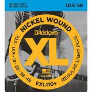 Струны D'Addario Nickel Wound 10,5-48 (EXL110+)
