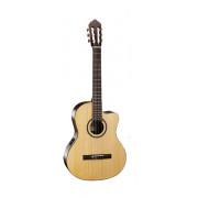 AC160CF-NAT Classic Series Классическая гитара со звукоснимателем, с вырезом, Cort