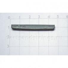 Верхний порожек GF (Guitar Factory), графит, 44.5x5x3.5 NTC-2