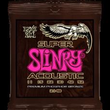 Струны Ernie Ball Super Slinky Acoustic 11-52 (2148)