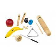 NINOSET4 Набор перкуссии, 8 предметов, в чехле, Nino Percussion