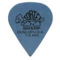Медиатор Dunlop Tortex Sharp синий 1.0мм. (412R1.0)