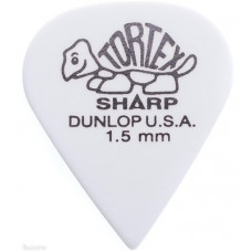 Медиатор Dunlop Tortex Sharp белый 1.5 мм. (412R1.5)