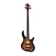 C4-Plus-ZBMH-OTAB Бас-гитара, табако санберст, Cort