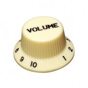 KI-240V Ручка потенциометра, Volume, кремовый, метрическая, Hosco