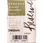 DIR0230 Reserve Трости для саксофона сопрано, размер 3.0, 2шт, Rico