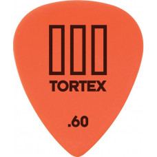 Медиатор Dunlop Tortex TIII оранжевый 0.60мм