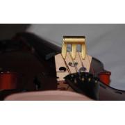 MV-1 Сурдина для скрипки размером 4/4-3/4, латунь, Мозеръ