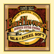 Струны Ernie Ball Earthwood Silk&Steel Acoustic 11-52 (2045)
