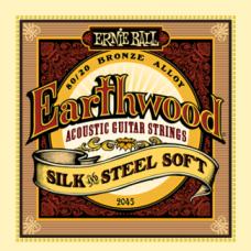 Струны Ernie Ball Earthwood Silk&Steel Acoustic 11-52 (2045)