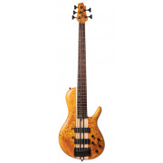A5-Plus-SC-AOP Artisan Series Бас-гитара 5-струнная, цвет янтарь, Cort