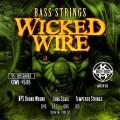 Струны Kerly Wicked Wire Bass NPS Roundwound 45-105(KXWB - 45105)