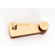 HV17 Чехол деревянный для варгана Волна, Мастерская Глазырина