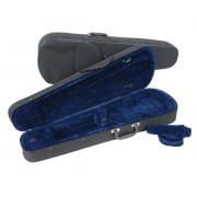 JWC-3016-1/2 Футляр для скрипки размером 1/2, черный/синий, Jakob Winter