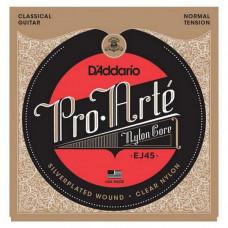 Струны D'Addario Pro Arte Classic Normal (EJ45)