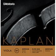 K410-MM Kaplan Forza Комплект струн для альта, среднее натяжение, Medium Scale, D'Addario