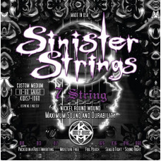 Струны Kerly Sinister NPS7 Tempered 7-string 10-60(KQXS7-1060)