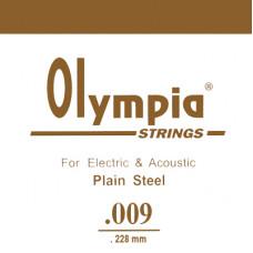 Струна Olympia для гитары 009, сталь (SA009)