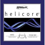 H410-MM Helicore Комплект струн для альта среднего размера, среднее натяжение, D'Addario