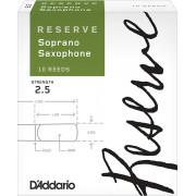 DIR1025 Reserve Трости для саксофона сопрано, размер 2.5, 10шт, Rico