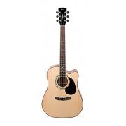 AD880CE-NS Standard Series Электро-акустическая гитара, с вырезом, цвет натуральный, Cort