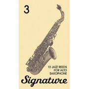 FR19SA04 Signature Трости для саксофона альт № 3 (10шт), FedotovReeds
