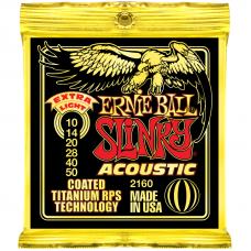 Струны Ernie Ball Acoustic Slinky Titanium Coated 10-50 (2160)