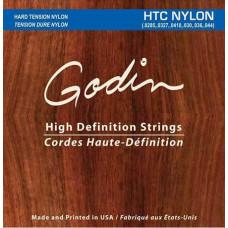 009367 NTC Nylon Комплект струн для классической гитары, сильное натяжение, Godin