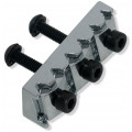 Топ-лок Schaller Nut R4, хром, 42.7мм (13120204)