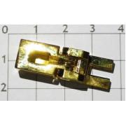 Седло Schaller №1 9,5 mm Золото  (для OFR, Schaller и аналогичных тремоло)