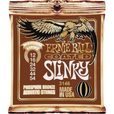 Струны Ernie Ball Acoustic Slinky Coated Phosphor Bronze 12-54 (3146)