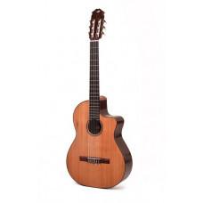 Классическая гитара Kibin Classic Std Cutaway (с вырезом), цвет натуральный, с чехлом
