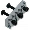 Топ-лок для тремоло Floyd Rose R3, Хром 42.85 мм (FRS2-NR3/C/P)