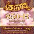 Струны La Bella Classic Black Nylon Golden Alloy (850-B)