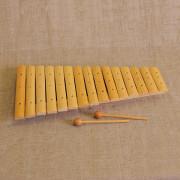 MS-K1-KS-04 Ксилофон диатонический (15 пластин), Мастерская Сереброва